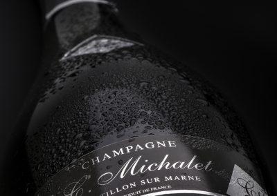 Etiquette personnalisée champagne C.Michalet